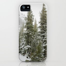 Winter at Mammoth Mountain iPhone Case