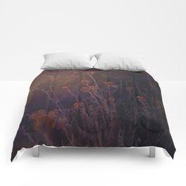gilded flickers Comforters