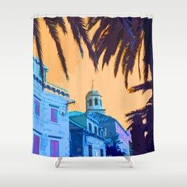 Cavtat Croatia holiday hotel Shower Curtain