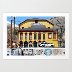 Virginia City Nevada 2 Art Print