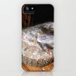 Unfinished Paper Mache iPhone Case
