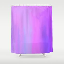 Melancholy After the Work is Done: Oil Abstract Painting Surrealism Shower Curtain