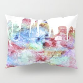 Cincinnati City Skyline Ohio Pillow Sham