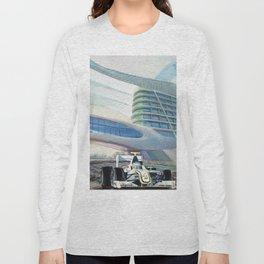 Brawn under Yas Hotel Bridge Long Sleeve T-shirt
