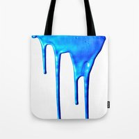 splatter Tote Bags featuring Splatter by Hints Photos