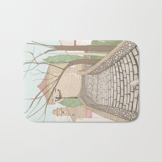 """LA PUENTE"" de Alcañizo Bath Mat"
