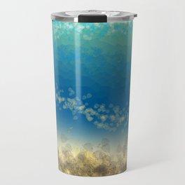 Abstract Seascape 04 wc Travel Mug