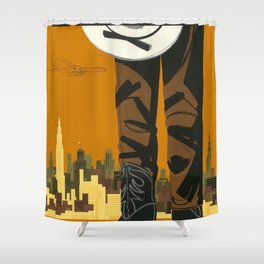 A Man Shower Curtain