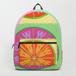 Unordinary orange fruit Backpack