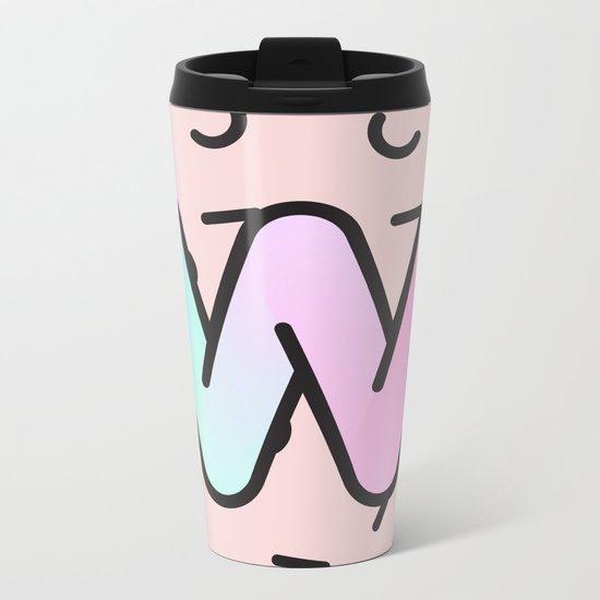 Wacky W Metal Travel Mug