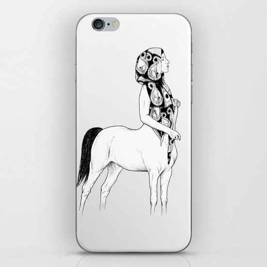 horses for courses I iPhone Skin