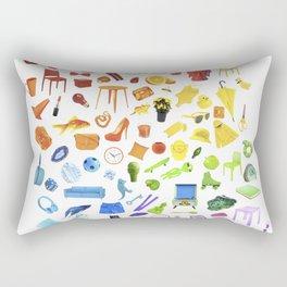 tangential thinking. Rectangular Pillow