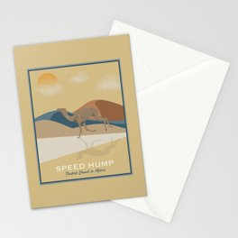 Speed Hump - Fastest Camel in Africa Stationery Cards