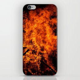 Burning Fire iPhone Skin