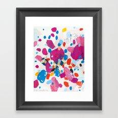 Fuchsia Physics Framed Art Print