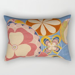 Hilma af Klint Group iv No. 2 the Ten Largest Youth Rectangular Pillow