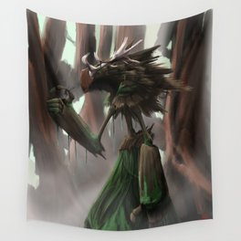 Swamp Giant Wall Tapestry