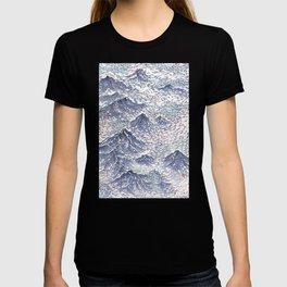 Distant View - 遠望 series -Linocut T-shirt