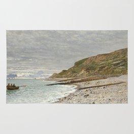 La Pointe de la Hève, Sainte-Adresse by Claude Monet Rug