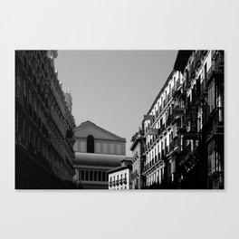 """""""Camino al Teatro"""" Canvas Print"""
