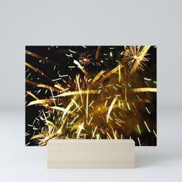Fireworks Mini Art Print