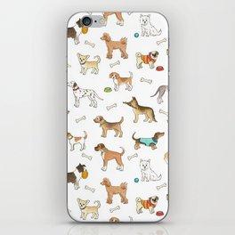 Breeds of Dog iPhone Skin