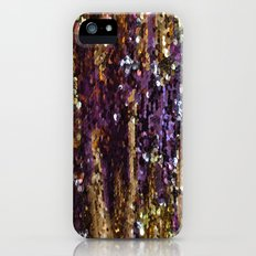 PURPLE AND GOLD Slim Case iPhone (5, 5s)