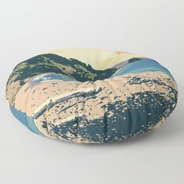 Cape Breton Highlands National Park Floor Pillow