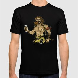 Jason Momoa comic style T-shirt
