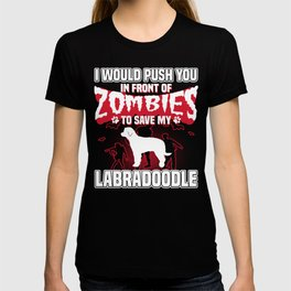 Save My Labradoodle Halloween Funny Gift Shirt T-shirt