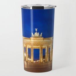 BERLIN Brandenburg Gate Travel Mug