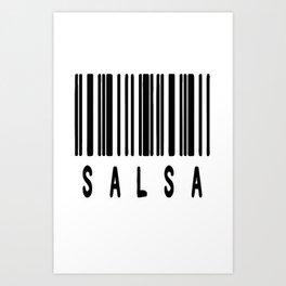 Salsa Scan Art Print