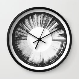 Sound of Earth - Van Allen Belt 3 Wall Clock