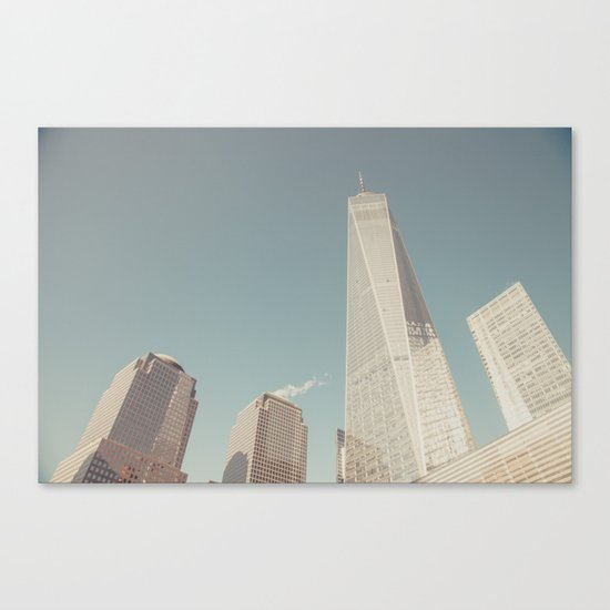 World Sky - New York City Canvas Print