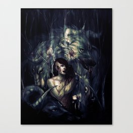 THRENODY Canvas Print
