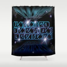 Unlimited Dimensions Department Shower Curtain