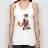 borderlands Tank Tops featuring Lilith by Melissa Smith