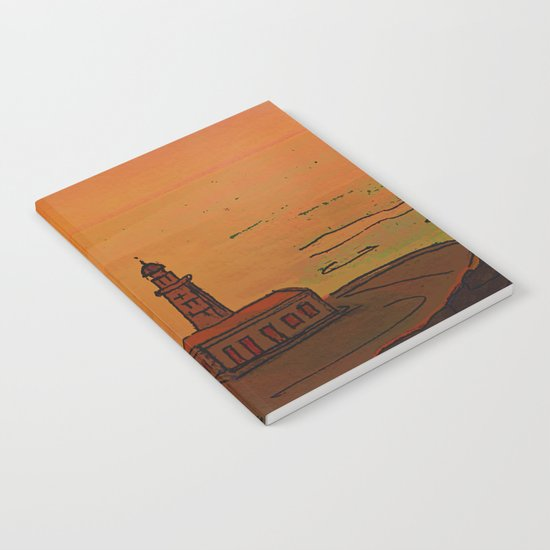 Good Morning / New and Old Lighthouse Fuencaliente La Palma Notebook
