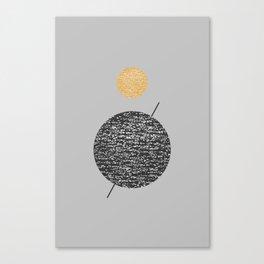 Saturn Abstract #society6 #decor #buyart Canvas Print