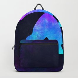 GORILLA IN SPACE // Animal Graphic Art // Watercolor Canvas Painting // Modern Minimal Cute Backpack