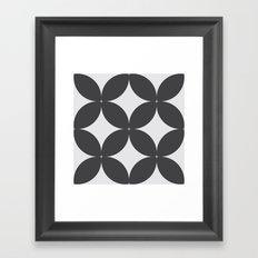 Pattern Tile 1.2 Framed Art Print