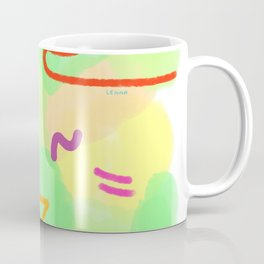 Life Is A Circus no.3 - pop pattern abstract modern design Coffee Mug