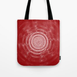 Ripples_Red Tote Bag