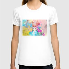 Abstract,colourful,bright,modern art decor  T-shirt