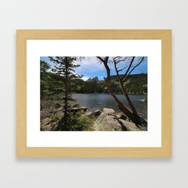 Bear Lake Framed Art Print