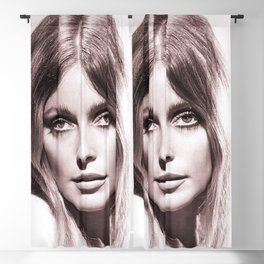 Sharon Tate poster Valley Of The Dolls 1967 Blackout Curtain