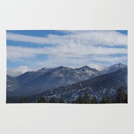 The Mountains of Lake Tahoe Rug