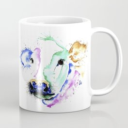 Colourful Cow Coffee Mug