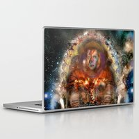 spaceman Laptop & iPad Skins featuring Spaceman by L. A. Tara