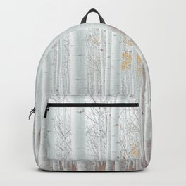 White tree forest Backpack